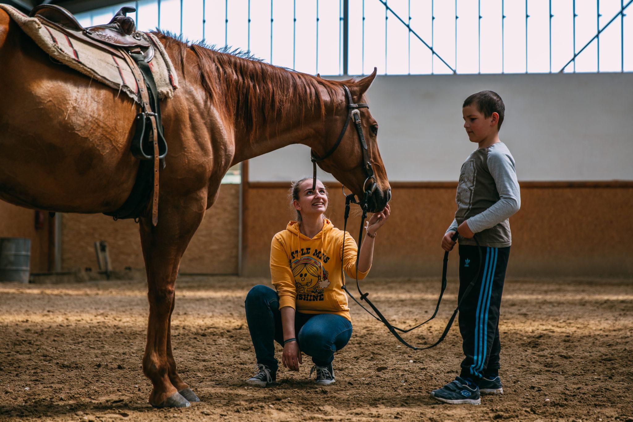 Detské tábory jazdenia na koni - Jazdecký Areál Sv. Františka