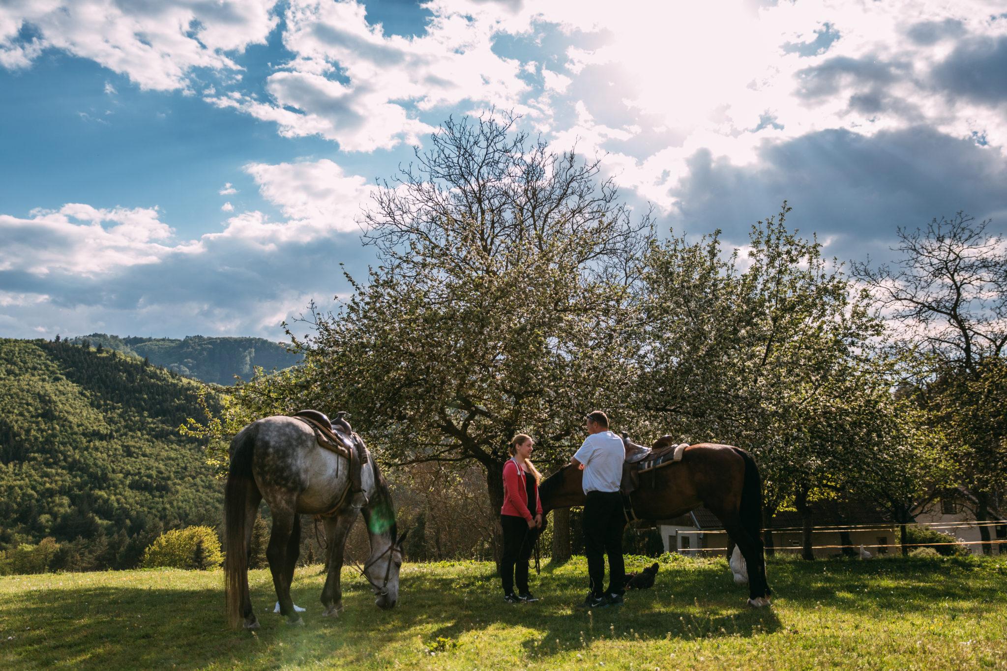 Hodiny jazdenia na koni v prírode - Jazdecký Areál Sv. Františka